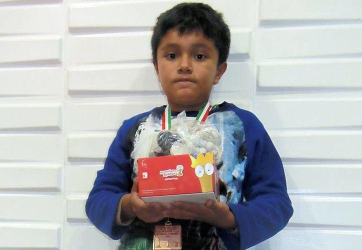 Paul Rosales Campos ganó medalla de bronce en el selectivo del Panamericano de Ajedrez, celebrado en Pachuca, Hidalgo. (Milenio Novedades)