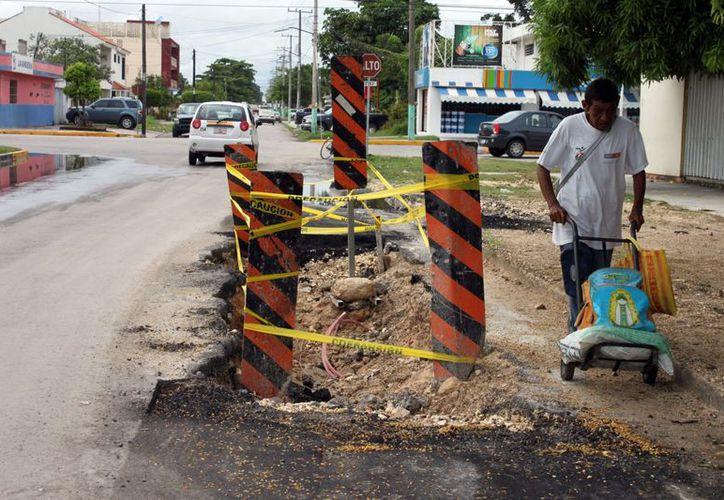 Piden regirores que la ejecución de obra pública solucione la demanda ciudadana. Se reprogramaron nueve ó 10 obras para el 2013. (Francisco Sansores/SIPSE)