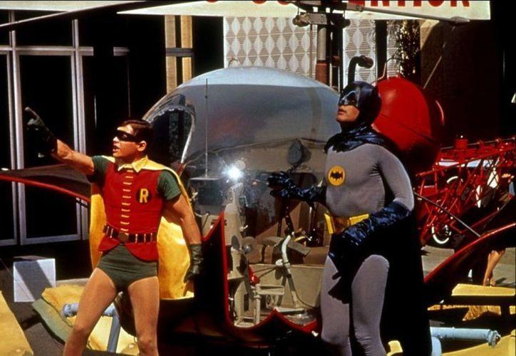 Batman y Robin en un episodio de la serie de televisión de 1966. (theredlist.com)
