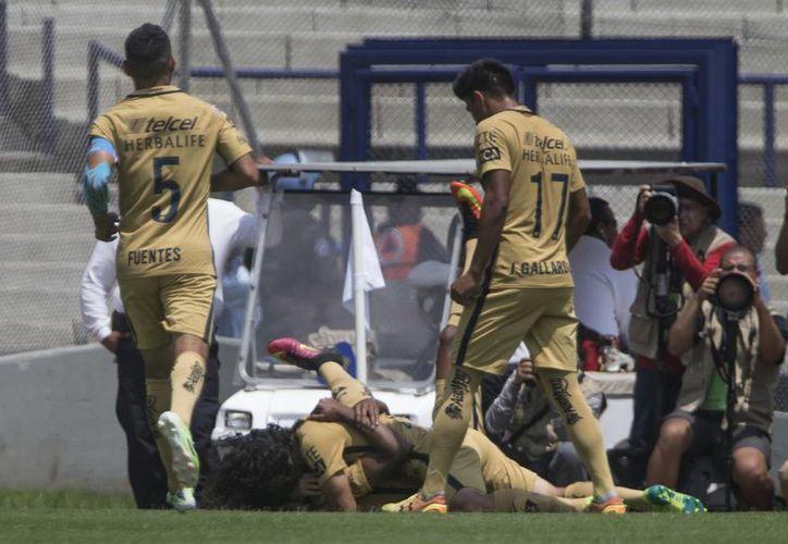 El club universitario se ubica entre los primeros ocho de la Liga, al sumar once unidades en seis encuentros. (Christian Palma/AP)