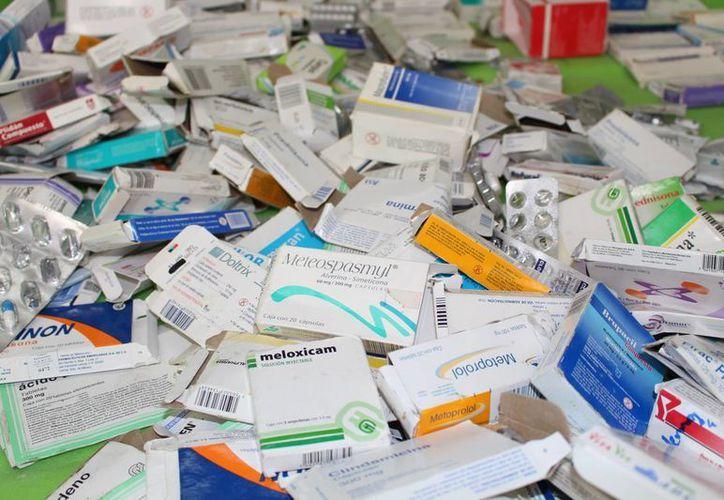 Un medicamento hipertensivo en farmacias privadas oscila entre los 109 pesos en presentación genérica o similar. (Luis Soto/SIPSE)