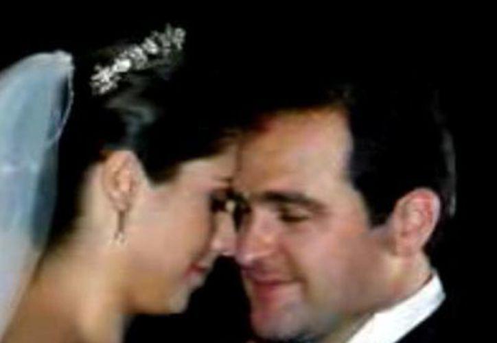 José Wafé y Rosa María, el día de su boda, en 2006. (Cortesía)