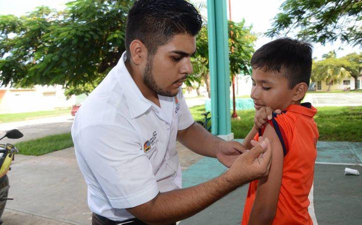 La campaña de vacunación contra la Rubéola y el Sarampión se extendió hasta el 21 de octubre en Q. Roo. (Cortesía)