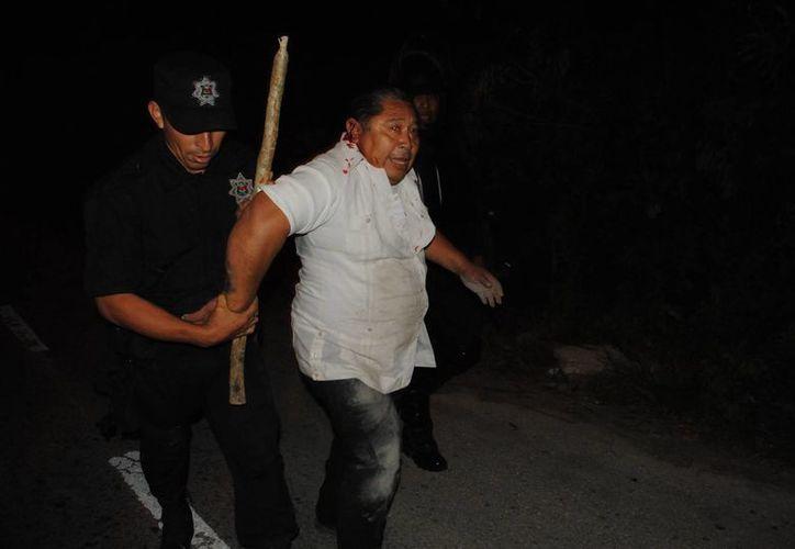Policías municipales sometieron a un total de 37 martillos disidentes. (Eric Galindo/SIPSE)