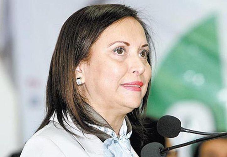 """La senadora Cristina Díaz admitió que """"todos hemos cometido pecados"""". (Milenio)"""