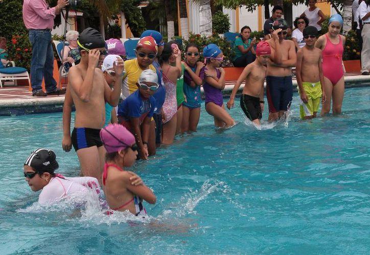 Fueron 80 menores los que participaron en el curso. (Julián Miranda/SIPSE)