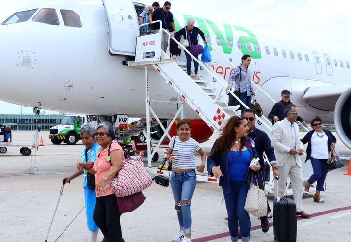 Las nuevas rutas aéreas favorecen la llegada de viajeros. (Milenio Novedades)