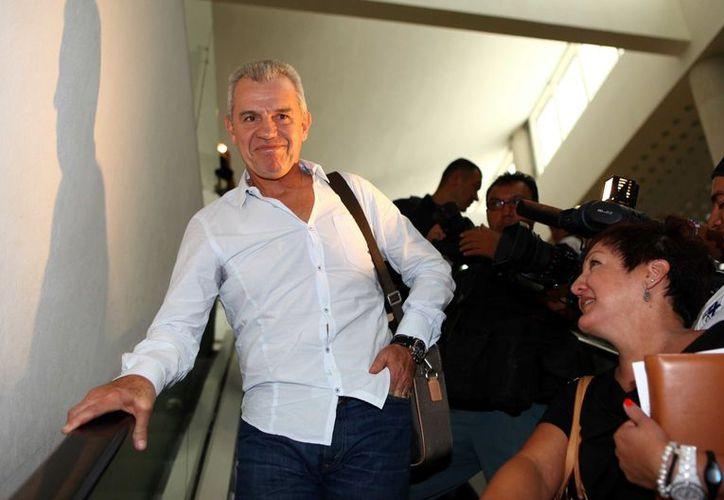 Aguirre llega acompañado por Alfredo Tena, como segundo entrenador. (Foto: Agencia Reforma)