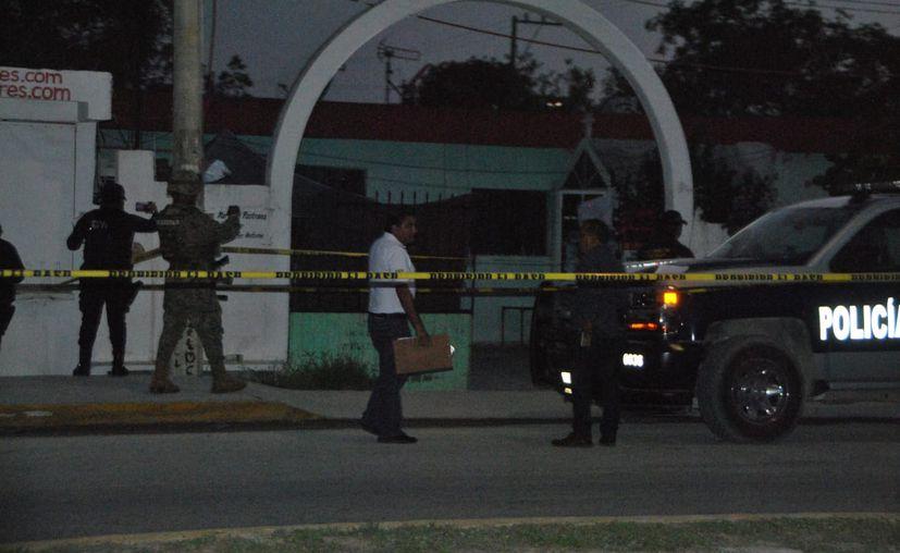 El ataque ocurrió el pasado sábado, en un domicilio donde se llevaba a cabo una reunión de índole política. (Redacción/SIPSE)