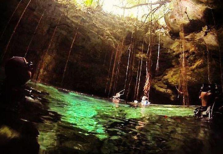 Como parte del Programa Chúul Dzonot se realizaron labores de limpieza en cenotes de la Riviera Maya. (blog.mexicodestinos.com)