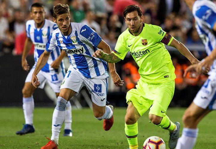 El cuadro de Messi no logró mantener el invito y perdió frente al equipo local.(La República)