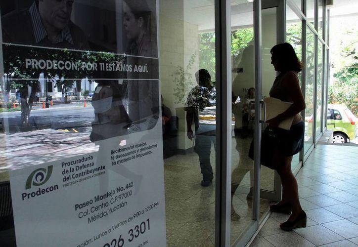 La Prodecon interviene a favor de contribuyentes. (Milenio Novedades)
