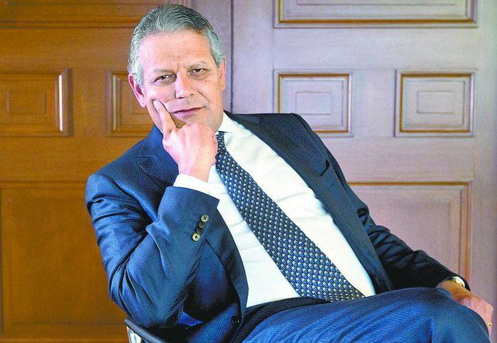 Luis Robles, presidente del Consejo de Administración de BBVA Bancomer. (Claudia Guadarrama/Milenio)
