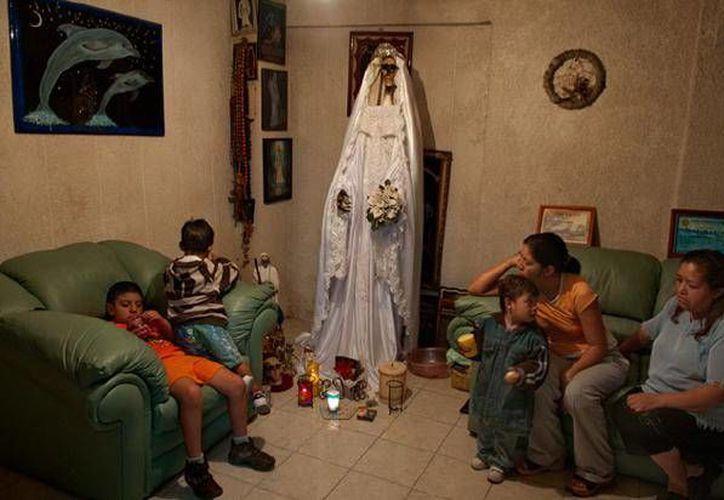 En algunas casas de México se venera la Santa Muerte. (nationalgeographic.de)