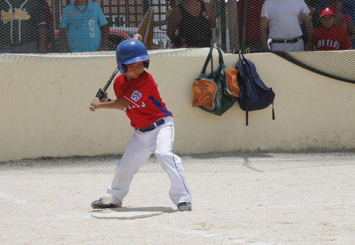 Jugarán peloteros de la liga infantil y juvenil. (Raúl Caballero/SIPSE)