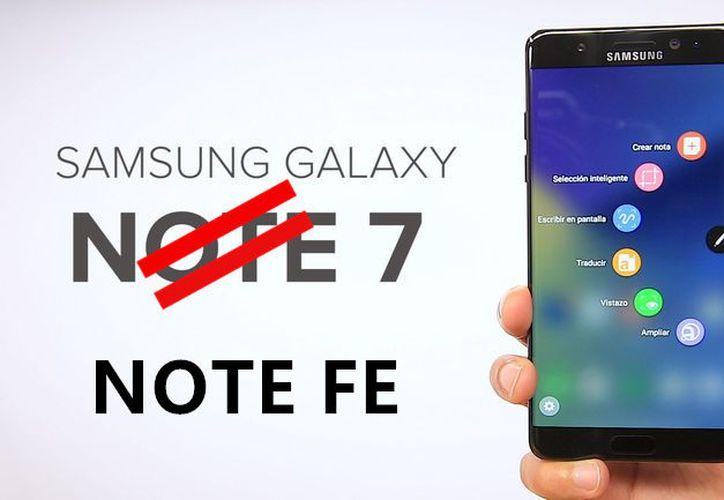 Samsung informó que reciclará partes de su fallido teléfono Galaxy Note 7 para usarlas en un nuevo modelo. (Contexto/Internet).