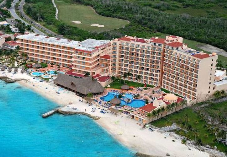 Las playas del hotel El Cozumeleño, albergarán a los nadadores el día del evento. (Foto de Contexto/Internet)