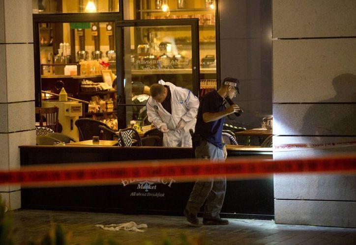 Hasta el momento el saldo mortal del atentado en Tel Aviv es de seis personas. (AP)