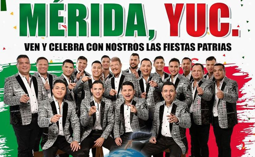 Anuncian concierto de La Arrolladora, en Mérida. (Facebook)