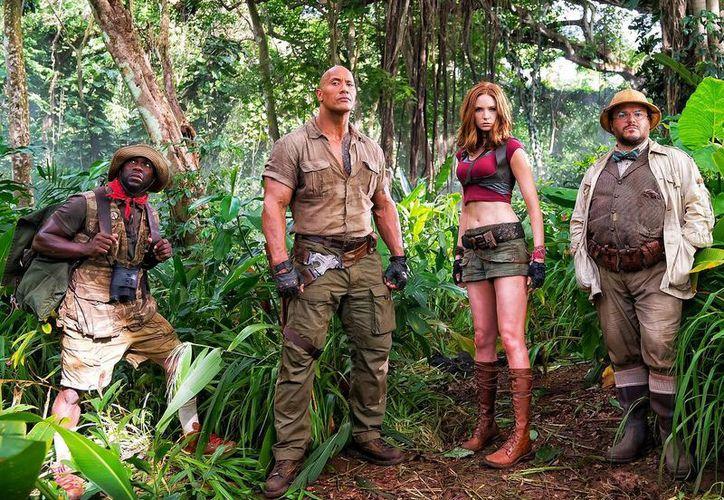 """""""Jumanji en la jungla"""" es una película comercial diseñada para las vacaciones decembrina. (Contexto/Internet)"""