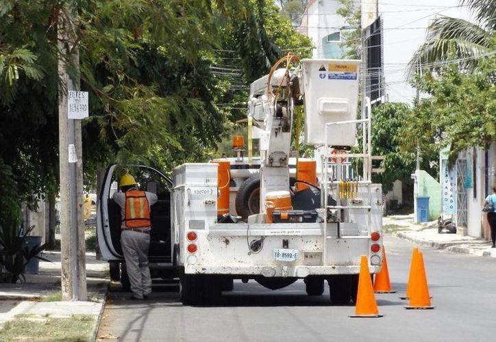 La CFE asegura que cuenta con la infraestructura para dotar de electricidad a las comunidades que emerjan en el municipio.  (Daniel Pacheco/SIPSE)