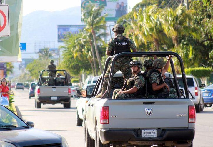 Elementos de la Armada de México han sufrido dos ataques en tan solo una semana, en Sinaloa. La imagen cumple funciones estrictamente referenciales. (Archivo/Notimex)