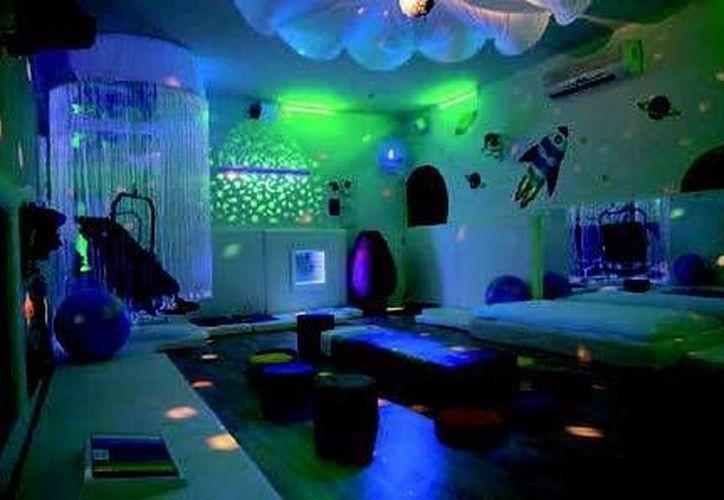 El Espacio de Michelle tiene un salón acondicionado al nivel de los que tienen los Centros de Rehabilitación Infantil Teletón. (Facebook/El Espacio de Michelle)