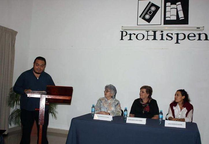 El Patronato Pro Historia Peninsular (ProHispen) presentó un informe sobre las actividades de 2015 y la proyección de espacios formativos para el 2016, en el que apostará por difundir la Historia del Arte. (SIPSE)