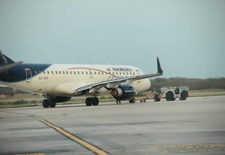Con el nuevo vuelo Mérida-La Habana, que se inaugura este jueves, Yucatán ya suma siete destinos internacionales en los últimos tres años. (Milenio Novedades)
