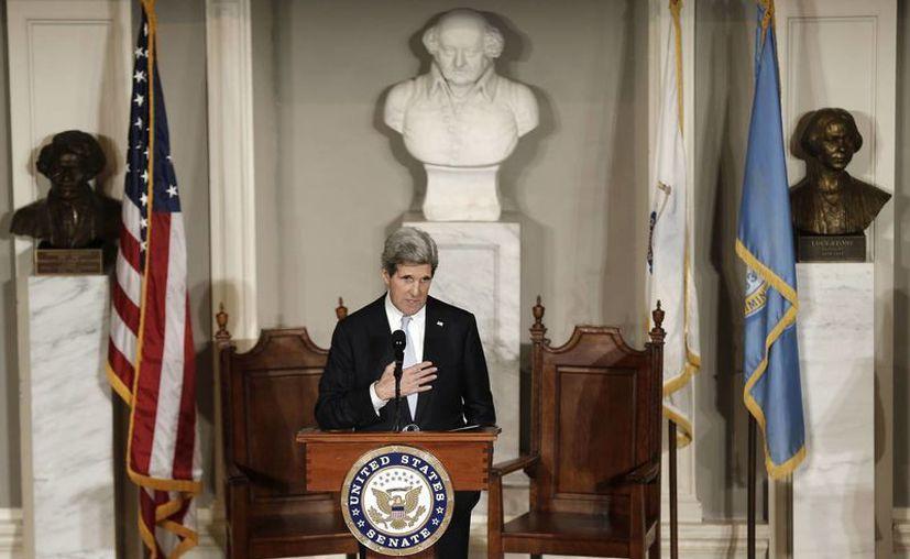 John Kerry es el 68vo secretario de Estado en la historia del país. (Agencias)