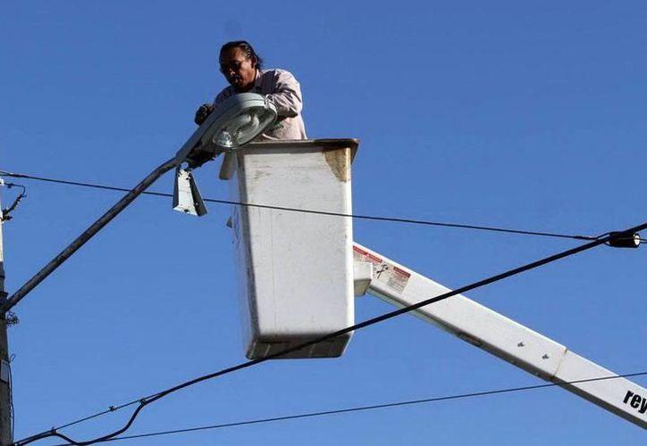 El Ayuntamiento analiza alternativas para pagar por el retiro de luminarias. (Foto: Milenio Novedades)