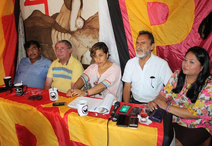 Integrantes del PT afirman que el presidente de Morena, José Luis Pech, no cumple con los lineamientos acordados. (Joel Zamora/SIPSE)