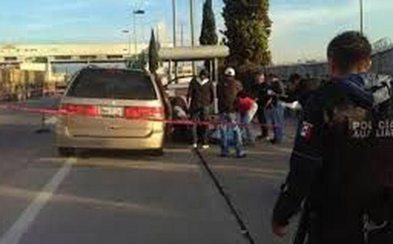Detienen a presunto agresor de familia en la México-Puebla
