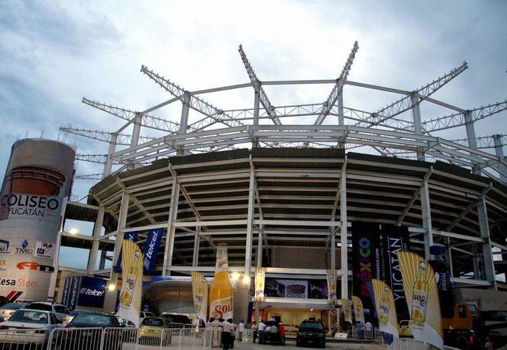 La inversión para el Coliseo Yucatán es de 220 millones de pesos. (Wilbert Argüelles/SIPSE)