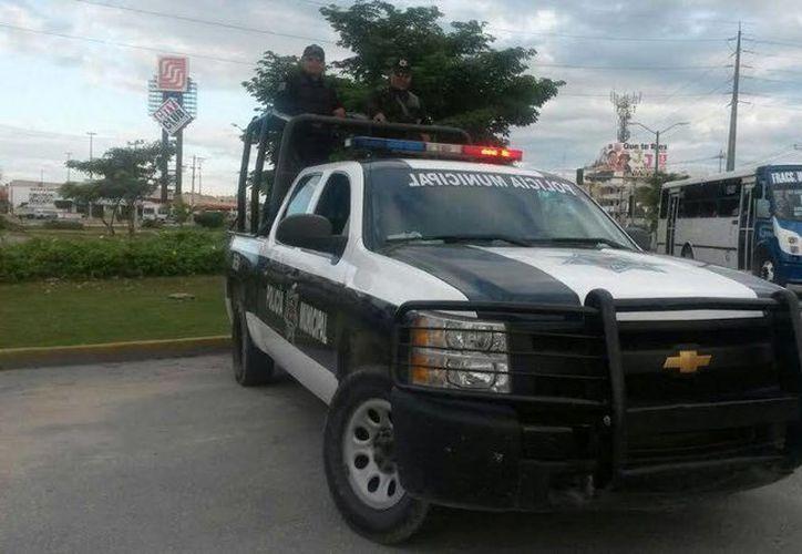 Seguridad Pública inicia operativo por el Buen Fin. (Eric Galindo/SIPSE)