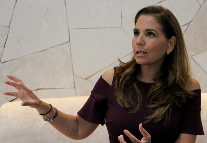 La presidenta municipal de Benito Juárez, Mara Lezama Espinosa, destacó que los ejes de su gobierno son una estrategia para lograr resultados positivos de manera integral. (Paola Chiomante/SIPSE)
