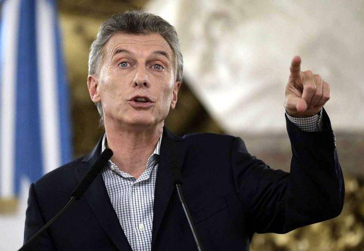 El presidente de Argentina, Mauricio Macri, anunció hoy que la pobreza en el país se redujo hasta el 25.7 por ciento. (Foto: El Intransigente)