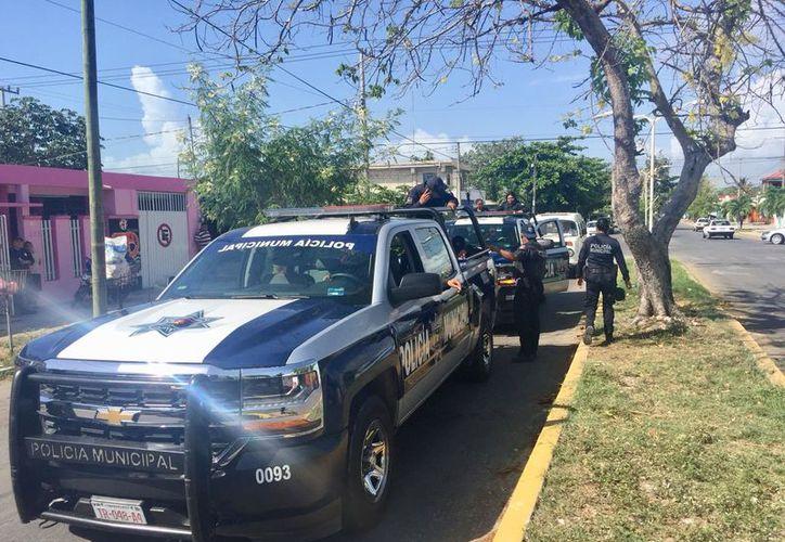 Seis integrantes del grupo delictivo fueron asegurados por los uniformados. (Redacción)