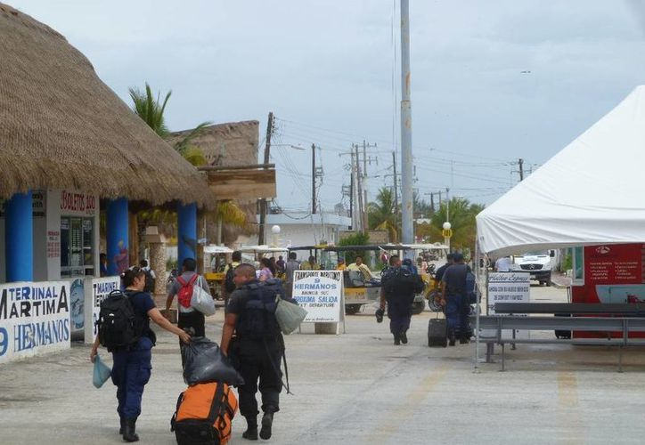 Finaliza conflicto social en la isla. (Raúl Balam/SIPSE)