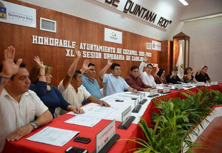 La propuesta se hizo durante una sesión ordinaria de Cabildo. (Marco Do Castella/SIPSE)