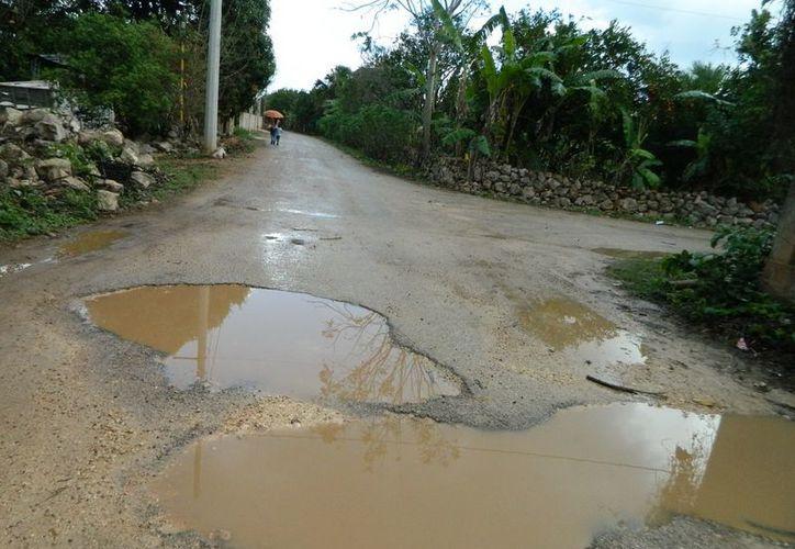 Muchas comunidades rurales de Yucatán son vulnerables a los efectos de huracanes. (SIPSE)