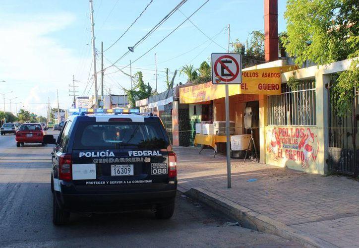 El miércoles por la tarde una pollería de la avenida Bonampak fue asaltada con violencia. (Redacción/SIPSE)