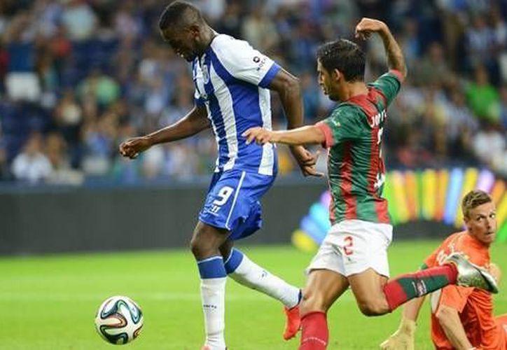 Uno de los goles del Porto fue obra del colombiano mundialista Jackson Martínez. (fcporto.pt)