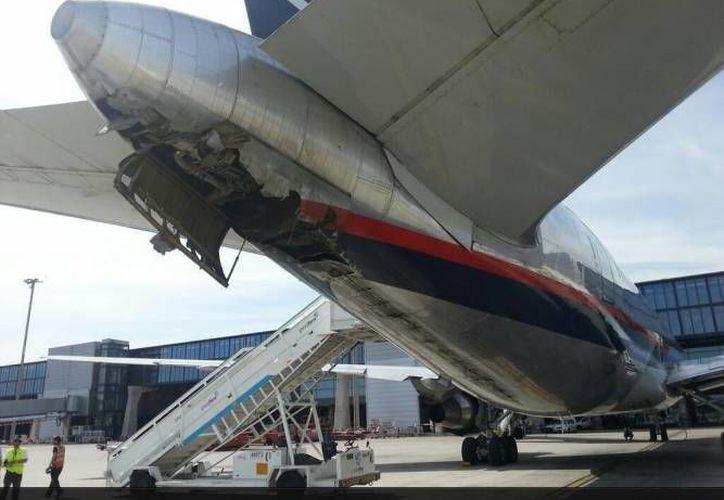 El pasado 16 abril un avión de la misma aerolínea sufrió un percance en el Aeropuerto de Madrid. (Internet)
