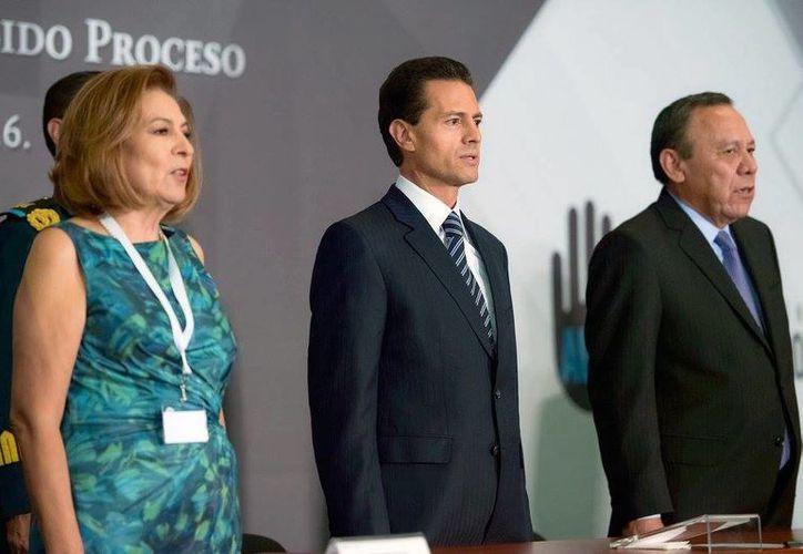 El Presidente Enrique Peña Nieto inauguró el Foro Internacional: Equidad para las víctimas en el debido proceso. (Facebook Presidencia de la República)