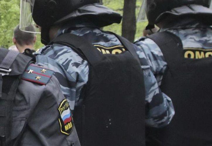 Fuerzas de seguridad rusas. (EFE)