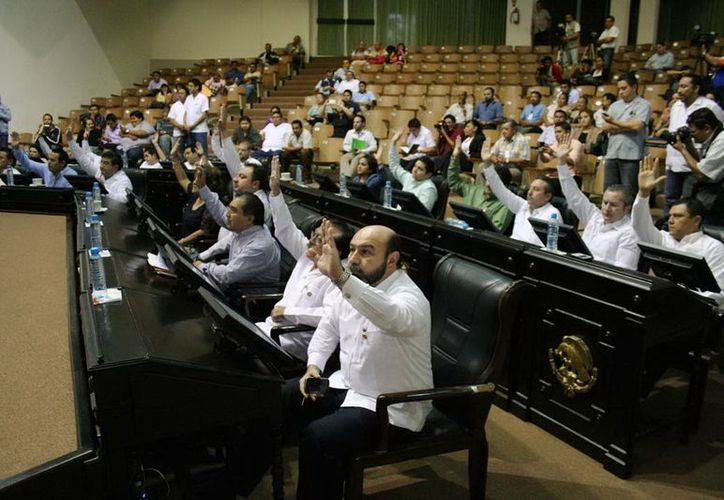 Diputados avalaron la petición del Gobierno del Estado de solicita un préstamo de 317 mdp para seguridad. (Cortesía)