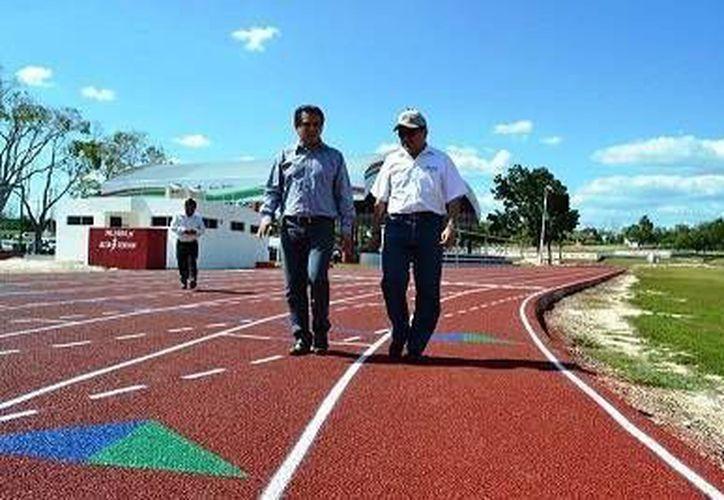 Estas instalaciones se encuentran listas para ser sede de las olimpiadas estatales y naciones. (Omar Capistrán/SIPSE)