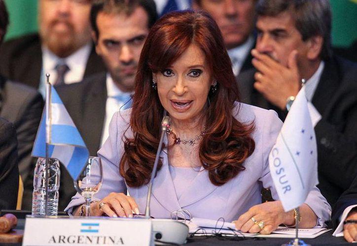 Presidenta de Argentina, Cristina Fernandez, anunció cambios en su gabinete. (Efe/Archivo)