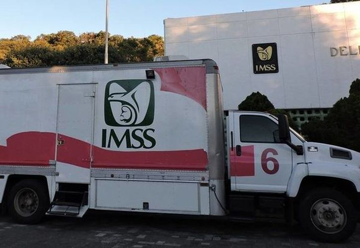 Imagen ilustrativa de las unidades móviles del IMSS. (Tomada de: www.e-tlaxcala.m)